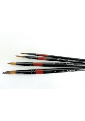 Juego de Pincel Nylon Redondo X 4 Ref. T010