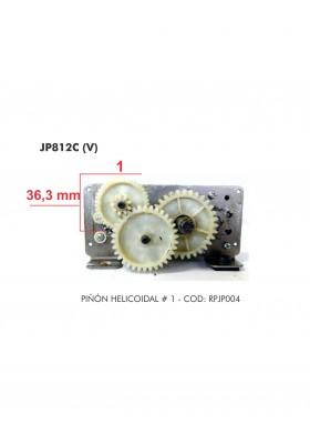 RPJP004  D. PIÑON HELICOIDAL JP812C No. 1 VIEJO