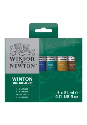 Set oleo winton 21ml  X6