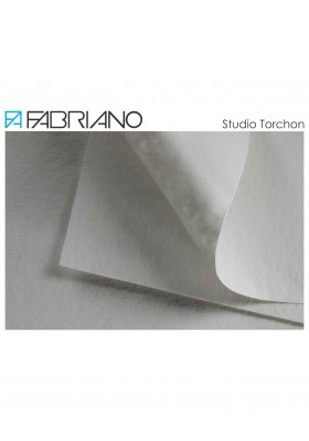 Papel acuarela 25% algodón 50x70 cm Fabriano Torchon