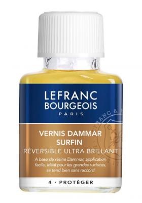 BARNIZ DAMAR EXTRA-FINE 75ML LEFRANC & BOURGEOIS