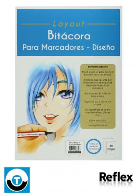 BITÁCORA PARA MARCADOR REFLEX LAYOUT