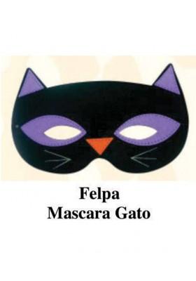 Máscara Felpa Gato