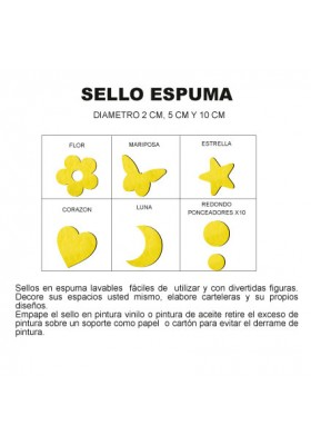 Sello Espuma