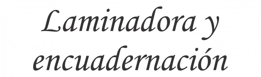 Laminación/Encuadernación